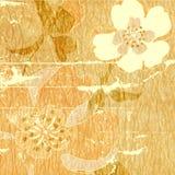 сбор винограда предпосылки абстрактного искусства Стоковое Изображение RF