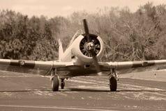 сбор винограда пропеллера самолета Стоковое Изображение RF