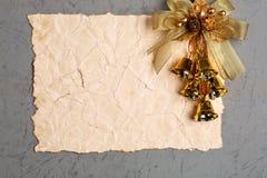сбор винограда пустой бумаги Стоковые Изображения RF