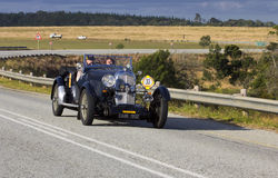 сбор винограда ралли автомобиля стоковые фотографии rf