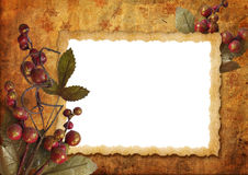 сбор винограда рамки рождества Стоковые Изображения