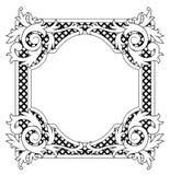 сбор винограда рамки иллюстрация вектора