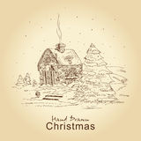 сбор винограда рождества карточки Стоковые Фото