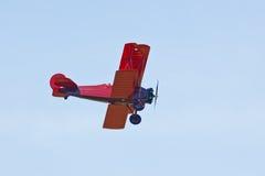 сбор винограда самолет-биплана Стоковое Изображение RF