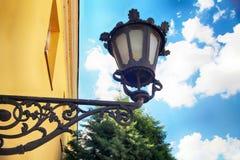 сбор винограда светильника старый стоковая фотография