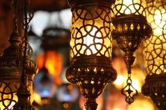 сбор винограда светильников традиционный турецкий Стоковое Изображение