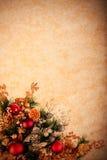 сбор винограда серии украшения рождества Стоковое Фото