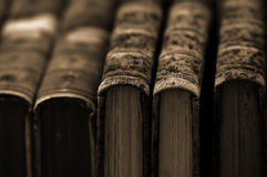 сбор винограда собрания книг Стоковые Изображения