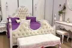 сбор винограда спальни Стоковое фото RF