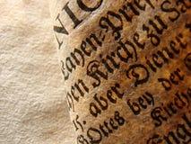 сбор винограда страницы Стоковое Фото