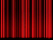 сбор винограда театра занавеса красный иллюстрация штока
