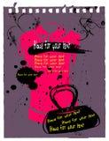 сбор винограда текста рубашки поля иллюстрация штока