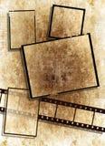 сбор винограда текстуры бумажной прокладки grunge пленки Стоковые Изображения RF