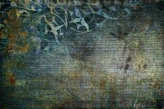 сбор винограда текстуры джинсовой ткани Стоковая Фотография RF