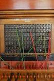 сбор винограда телефона коммутатора Стоковые Изображения RF