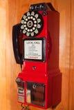 сбор винограда типа payphone Стоковое Изображение RF