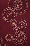 сбор винограда ткани детали Стоковые Изображения RF