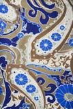 сбор винограда ткани детали Стоковые Изображения
