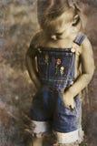 сбор винограда тонов прозодежд ребенка Стоковая Фотография RF