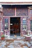 сбор винограда фасада Стоковая Фотография