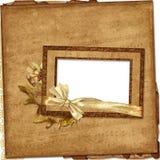 сбор винограда фото рамок музыкальный бумажный Стоковая Фотография RF