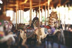 сбор винограда Франции paris carousel принятый фото Стоковое фото RF