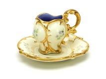 сбор винограда чая чашки Стоковое Изображение