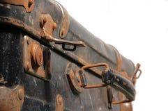 сбор винограда чемодана Стоковые Изображения