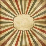 сбор винограда шаблона sunbeams иллюстрация вектора