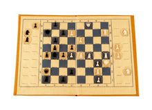 сбор винограда шахмат стоковое фото rf