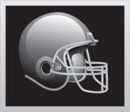 сбор винограда шлема футбола иллюстрация штока