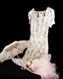 сбор винограда шнурка платья Стоковое Изображение
