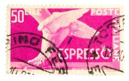 сбор винограда штемпеля почтоваи оплата Стоковая Фотография RF