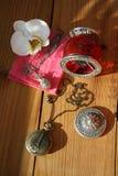 сбор винограда ювелирных изделий коробки Стоковое фото RF