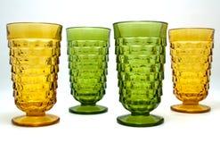 сбор винограда янтарных кубков пущи зеленый Стоковое Изображение