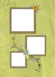 сбор винограда 02 карточек Стоковая Фотография