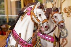 сбор винограда carousel Стоковая Фотография