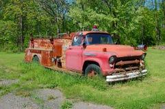 сбор винограда firetruck Стоковая Фотография RF