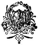 сбор винограда grunge конструкции Стоковые Фото