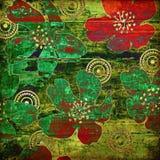 сбор винограда grunge предпосылки абстрактного искусства Стоковое Изображение RF