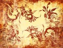сбор винограда grunge предпосылки текстурированный взглядом Стоковые Изображения RF