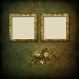сбор винограда grunge рамки предпосылки Стоковая Фотография