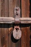 сбор винограда padlock Стоковое Изображение