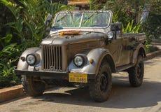 сбор винограда phabang luang Лаоса автомобиля Стоковое Изображение