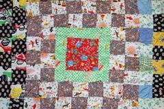 сбор винограда quilt Стоковые Изображения RF