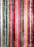 сбор винограда striped предпосылкой Стоковое Изображение