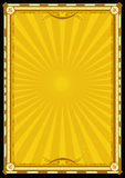 сбор винограда sunbeams плаката праздников предпосылки Стоковое фото RF