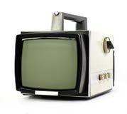 сбор винограда tv портативной машинки установленный Стоковые Фотографии RF