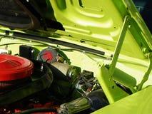 сбор винограда автомобиля зеленый Стоковое Изображение