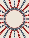 сбор винограда американской предпосылки патриотический иллюстрация штока